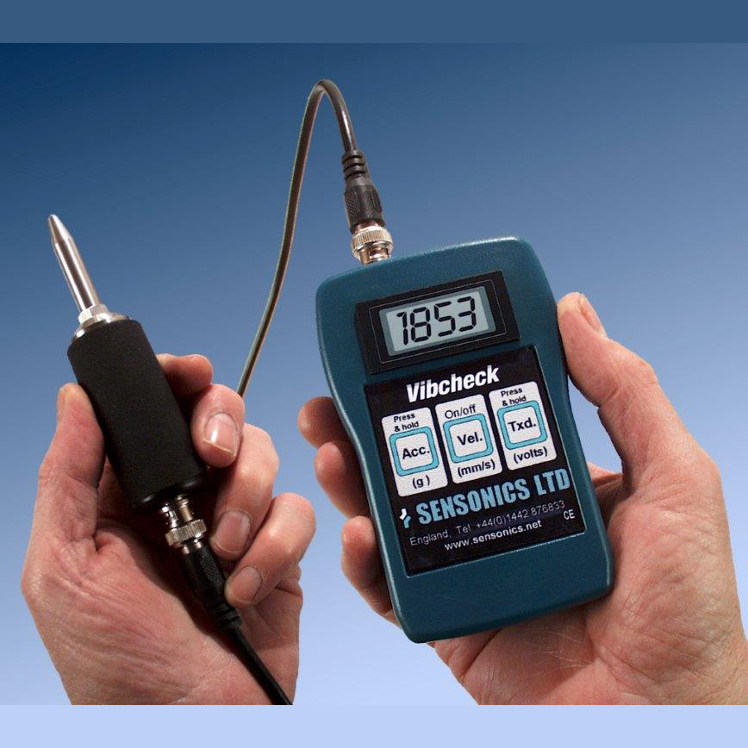 Compact Instruments Vibcheck Portable Vibration Meter