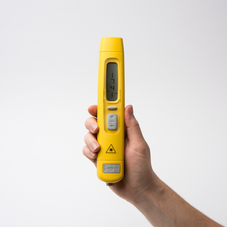 Compact Instruments A2109/LSR/002 Intrinsically Safe Optical Contact Tachometer Pulse Output