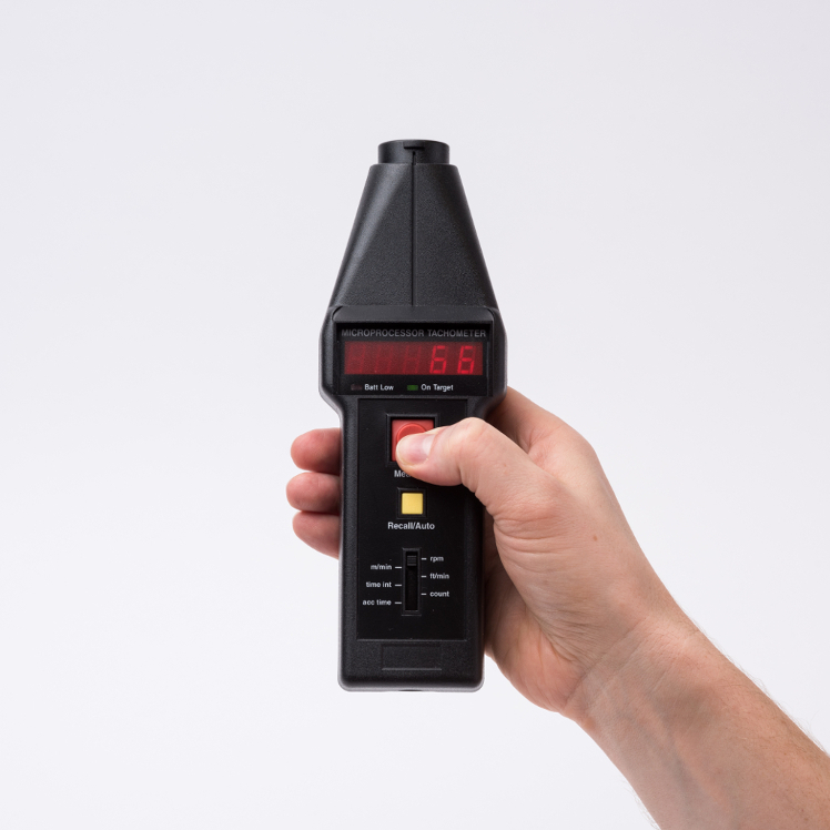 Compact Instruments CT6/M Standard Optical-Contact Tachometer (Metric)